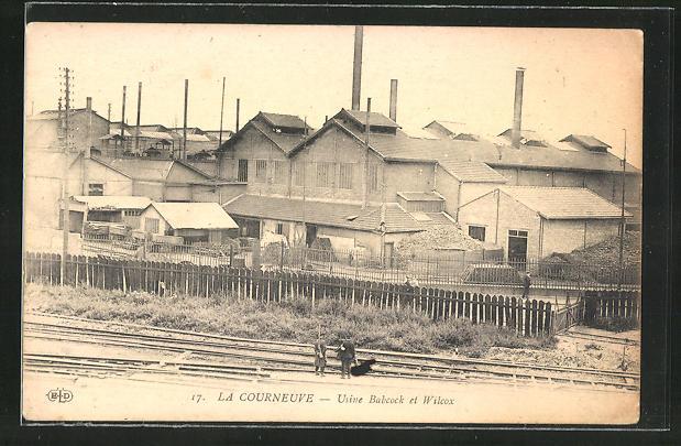 AK La Courneuve, Usine Babcock et Wilcox