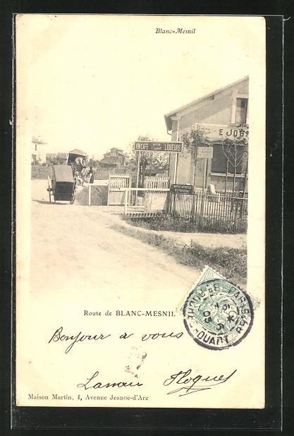 AK Blanc-Mesnil, Vin-Cafe Maison Jourdan, Route de Blanc-Mesnil