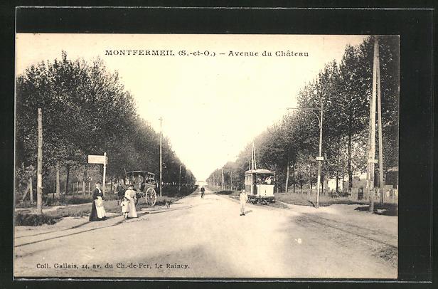 AK Montfermeil, Avenue du Chateau 0