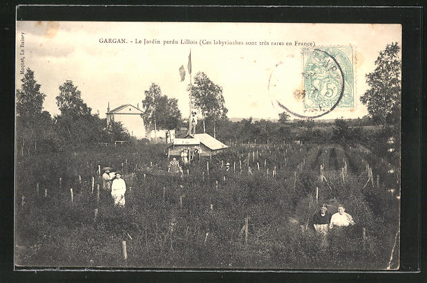 AK Gargan, Le Jardin perdu Lillois
