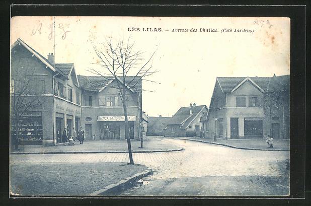 AK Les Lilas, Avenue des Dhalias, Cite Jardins 0