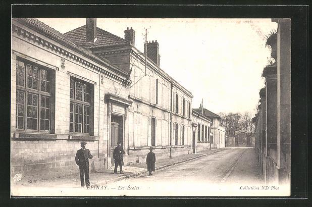 AK Epinay, Les Ecoles, Strassenpartie 0