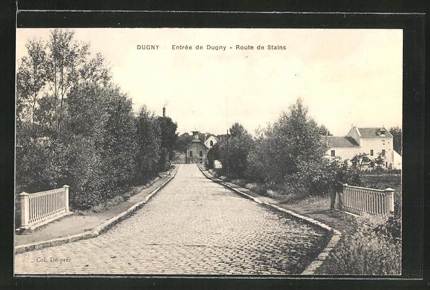 AK Dugny, Entree de Dugny, Route de Stains