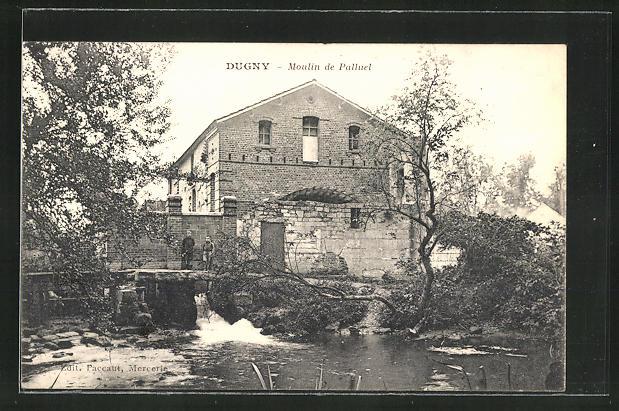 AK Dugny, Moulin de Palluel, Mühle