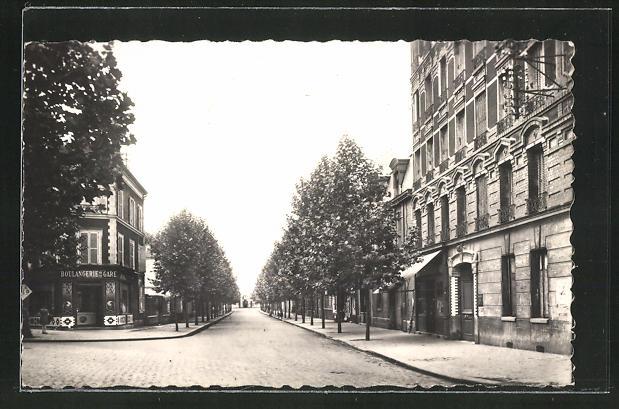 AK Le Bourget, Avenue Francis de Pressense 0