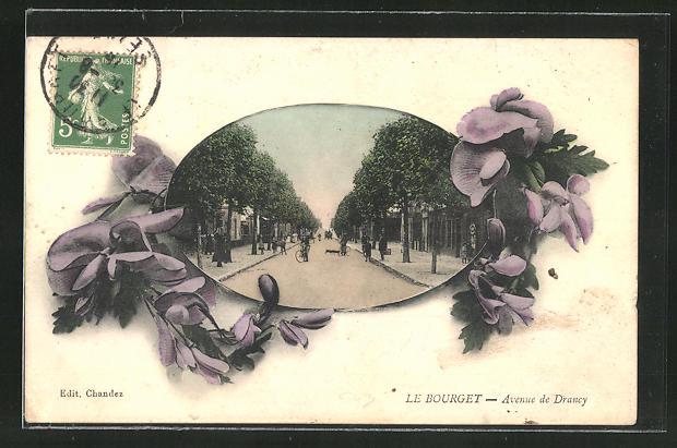 Passepartout-AK Le Bourget, Avenue de Drancy