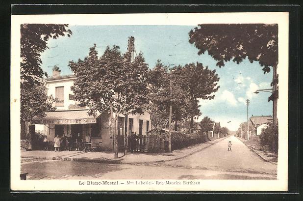 AK Le Blanc-Mesnil, Min. Laborie, Rue Maurice Betheau