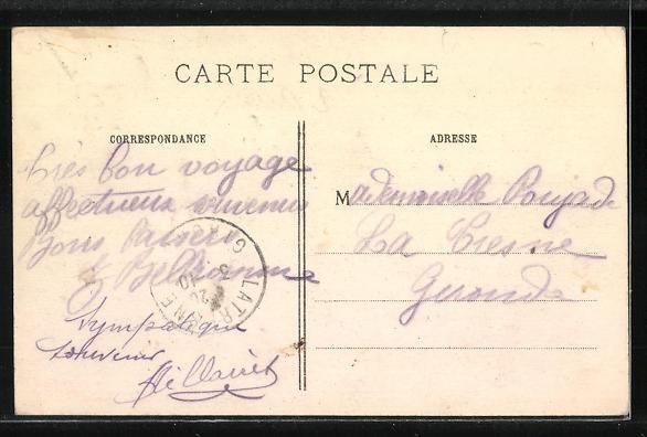 AK Aubervilliers, Canal St-Denis et le Pont 1
