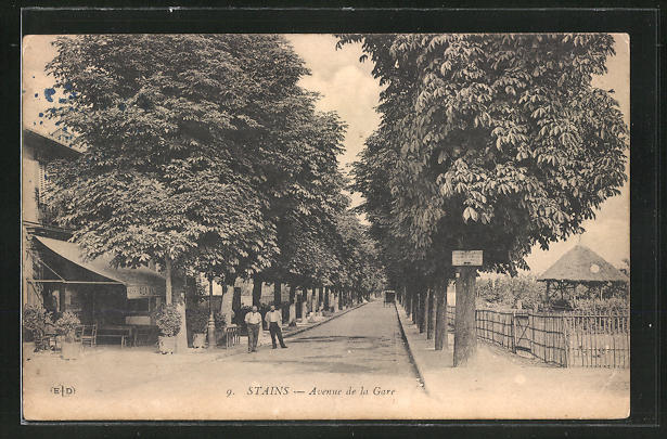 AK Stains, Avenue de la Gare 0