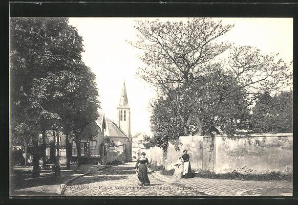 AK Stains, Place Vatry et rue du Repos
