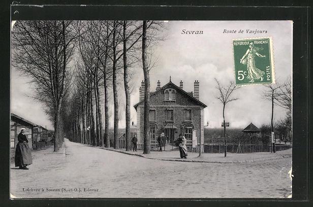 AK Sevran, Route de Vaujours 0