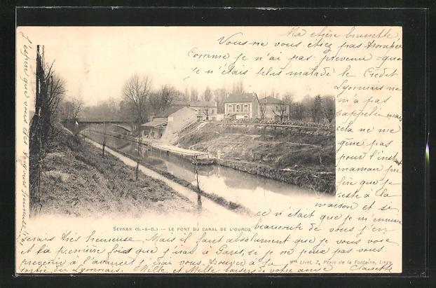 AK Sevran, Le Pont du Canal de l'Ourcq 0