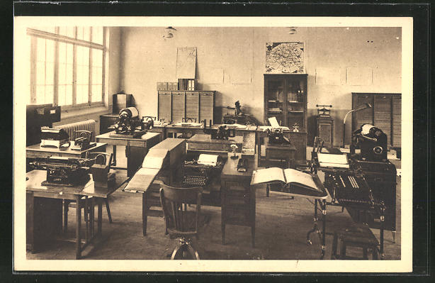 AK Saint-Ouen, Ecole Nationale Professionelle, Bureau commercial