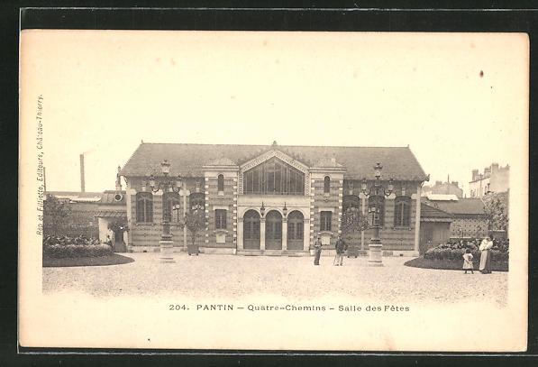 AK Pantin, Quatre-Chemins, Salle des Fetes