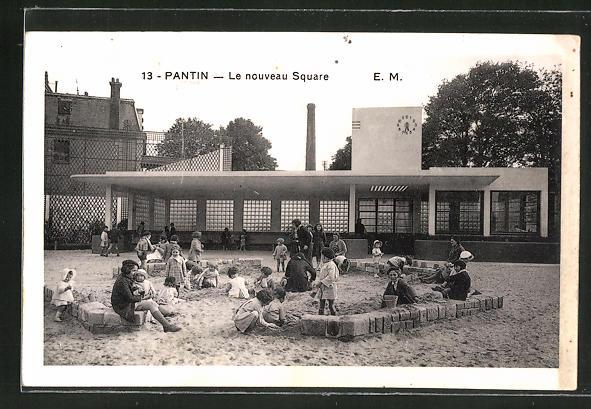 AK Pantin, Le nouveau Square