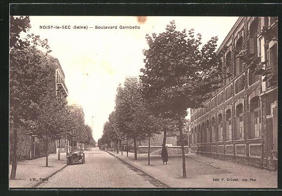 AK Noisy-le-Sec, Boulevard Gambetta