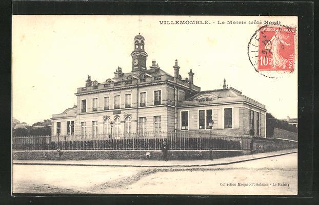 AK Villemomble, La Mairie, Sicht auf das Rathaus