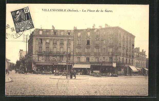 AK Villemomble, La Place de la Gare 0