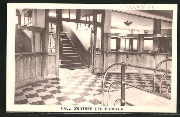 AK St-Denis, Hall d'entree des Bureaux 0