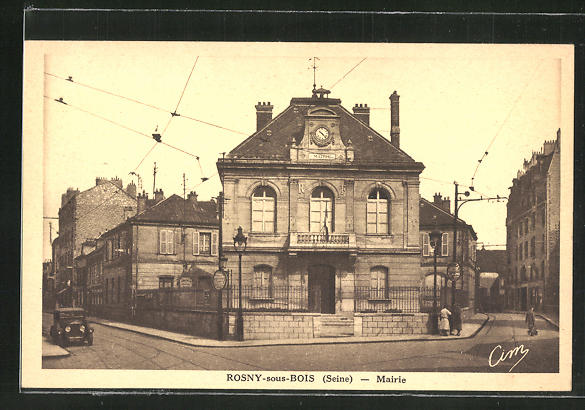 AK Rosny-sous-Bois, Mairie, Sicht auf das Rathaus