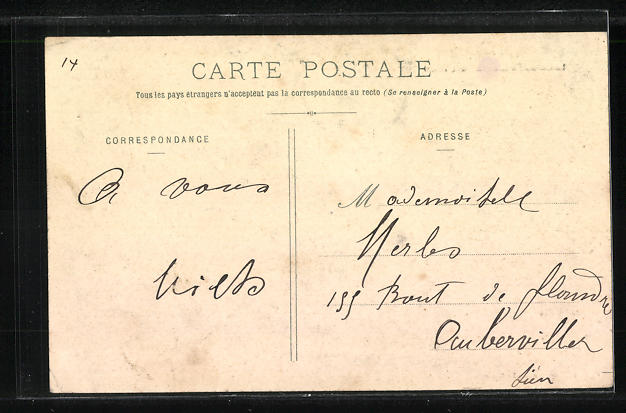 AK Raincy, Le Chateau d'Eau, Avenue Thiers 1