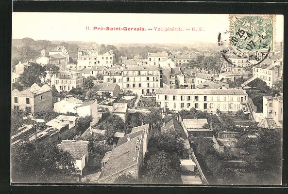 AK Pre-Saint-Gervais, Vue generale