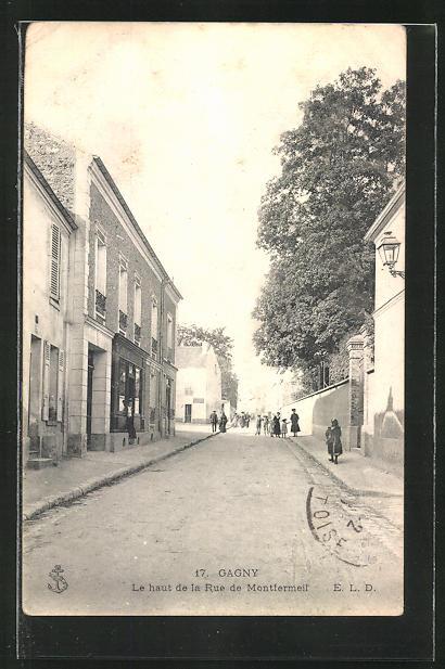 AK Gagny, Le haut de la Rue de Montfermeil