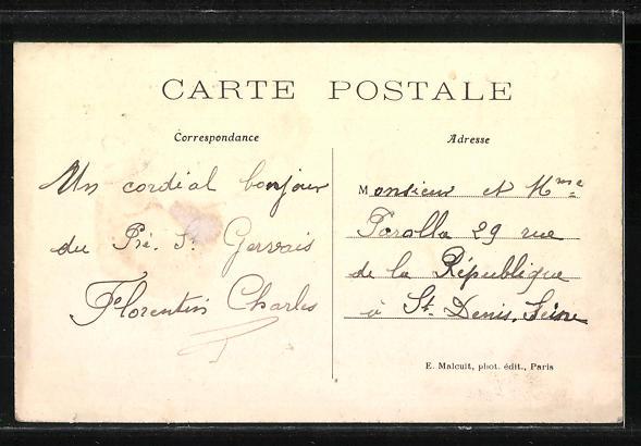 AK Pré-Saint-Gervais, L'Usine Gladiator et la Grande Rue 1