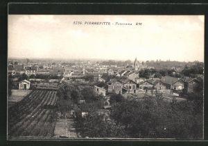 AK Pierrefitte, Blick über die Dächer der Ortschaft