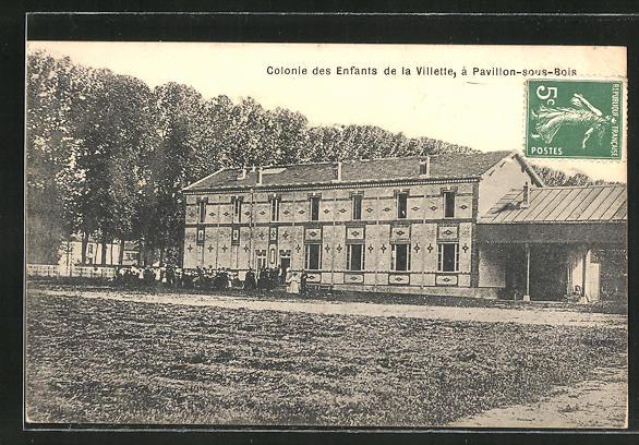 AK Les Pavillons-sous-Bois, Colonie des Enfants de la Villette