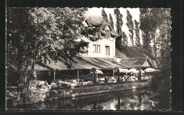 AK Orgeval, Moulin d'Orgeval, La Terrasse
