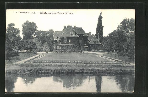 AK Bougival, Chateau des Deux Rives