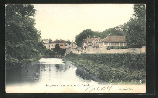 AK Jouy-en-Josas, Vue du Canal