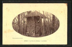 AK Epone, Le Parc du Chateau, le Chalet