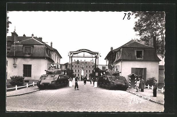 AK Rambouillet, Le Quartier, Generale Estienne, le corps de garde