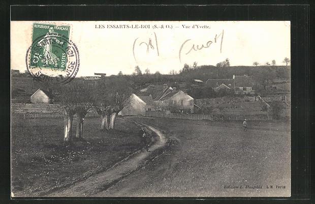 AK Les Essarts-le-Roi, Panorama