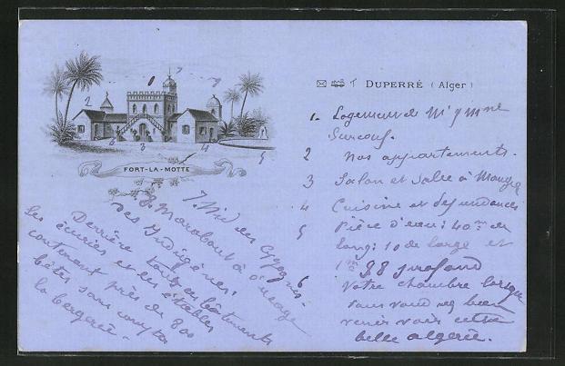AK Duperre, Fort-la-Motte