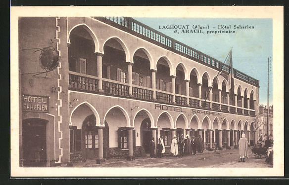 AK Laghouat, Hotel Saharien