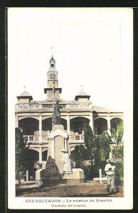 AK San Salvador, La estatua de Rosales
