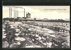 AK Ardmore, OK, Cotton Compress, Panorama