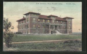 AK Tulsa, OK, Girl's Dormitory, Henry Kendall College