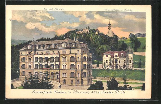AK Neuhaus im Wienerwald, Kurhotel D'Orange