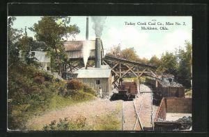 AK McAlester, OK, Turkey Creek Coal Co., Mine No. 2