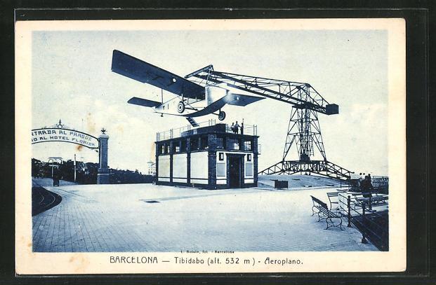 AK Barcelona, Tibidabo, Aeroplano