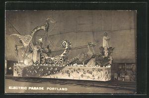 AK Portland, ME, Electric Parade