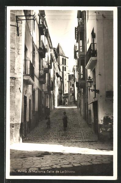 AK Palma de Mallorca, Calle de la Olivera