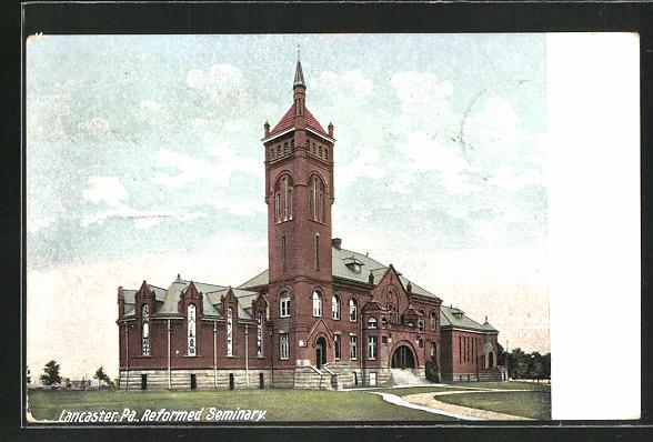 AK Lancaster, PA, Reformed Seminary, Gebäudeansicht