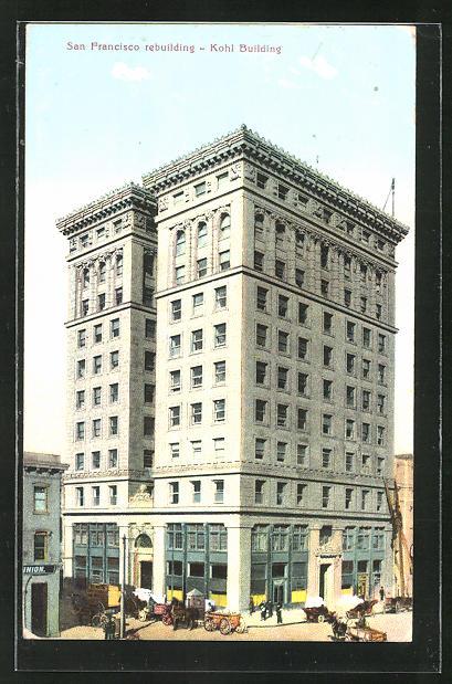 AK San Francisco, CA, View of the Kohl Building