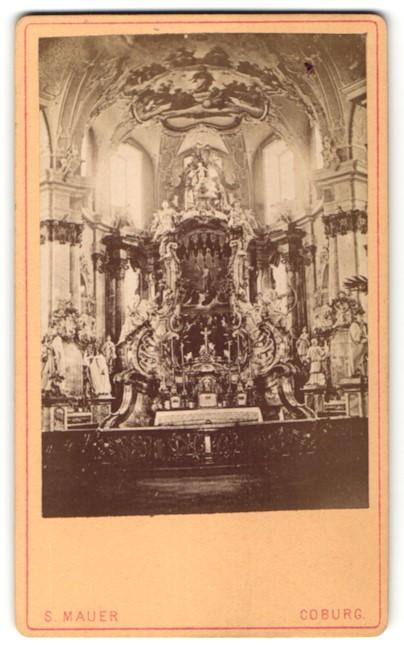 Fotografie S. Mauer, Coburg, Ansicht Bad Staffelstein, Basilika