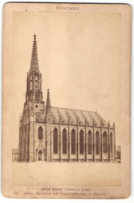 Fotografie Alfred Schmid, München, Ansicht München, Auer Kirche